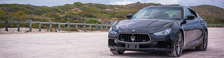 Maserati Ghibli beautifully captured in Cape Town