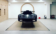 Pagani is working on a Zonda without a V12