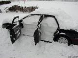 Sneeuwpret met je Ferrari en Subaru!