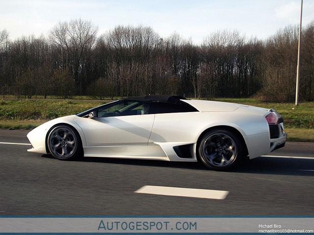 Gespot: Lamborghini Murciélago LP640 Roadster