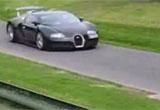 Filmpje: Bugatti Veyron @ de Prescott Hill Climb