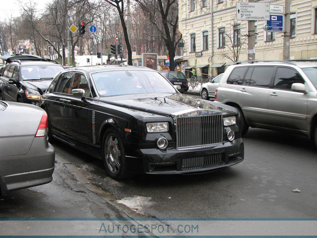 Gespot: Rolls-royce Phantom Mansory Conquistador