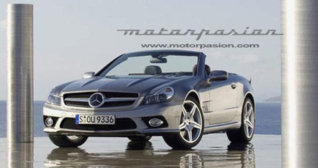 Officiële foto's nieuwe Mercedes SL
