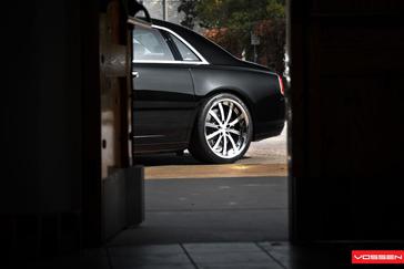 Niet te gek: Rolls-Royce Ghost op Vossen Wheels