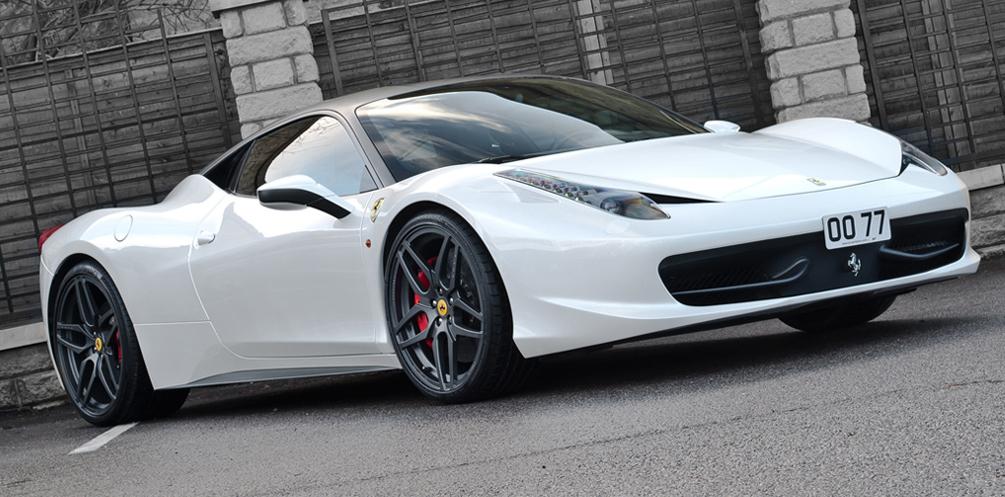 Project Kahn Laat Chique Varianten Ferrari 458 Italia Zien