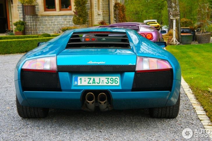 Klassiek trio van Lamborghini gespot
