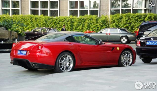Gespot: Ferrari 599 GTB Fiorano HGTE China Edition