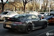 La Porsche 991 Turbo presque sans camouflage