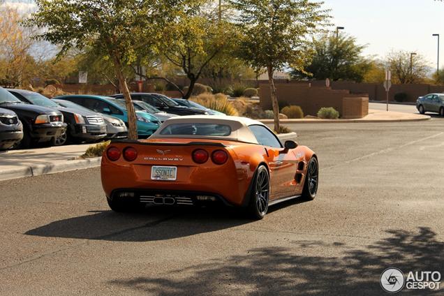 Kleurrijk en krachtig: Callaway C17 Corvette Convertible SC606