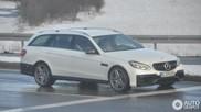 Il va falloir s'y habituer : la Mercedes-Benz E 63 AMG S212 2013