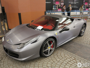 Specialna folija na Ferrariju 458 Italia