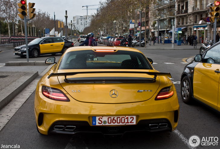 Here it is! The Mercedes-Benz SLS AMG Black Series
