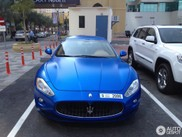 杜拜超讨喜蓝色马萨拉蒂 GranTurismo S