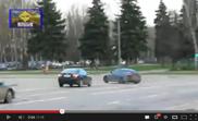 Видео: Lexus IS-F дрифтит на улицах Москвы