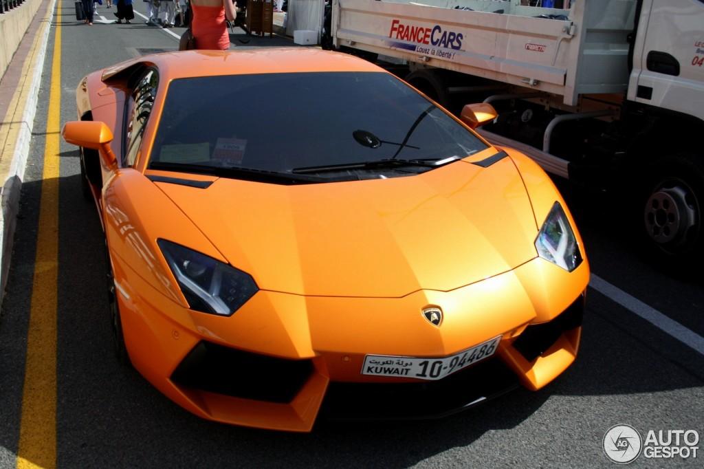 Lamborghini color chart