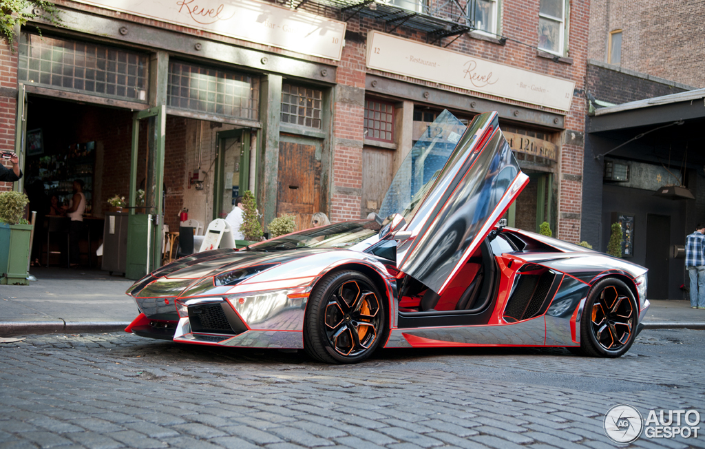 colours of the rainbow: Lamborghini Aventador LP700-4