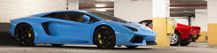 All Colours Of The Rainbow Lamborghini Aventador Lp700 4