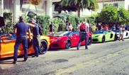 Lamborghini Aventador prezinta LP700 4 Roadster, in Miami