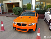W kolorze Orange Fire: BMW E92 M3 Tiger Edition