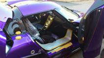 Flashy colours for the new Koenigsegg Agera R Zijin