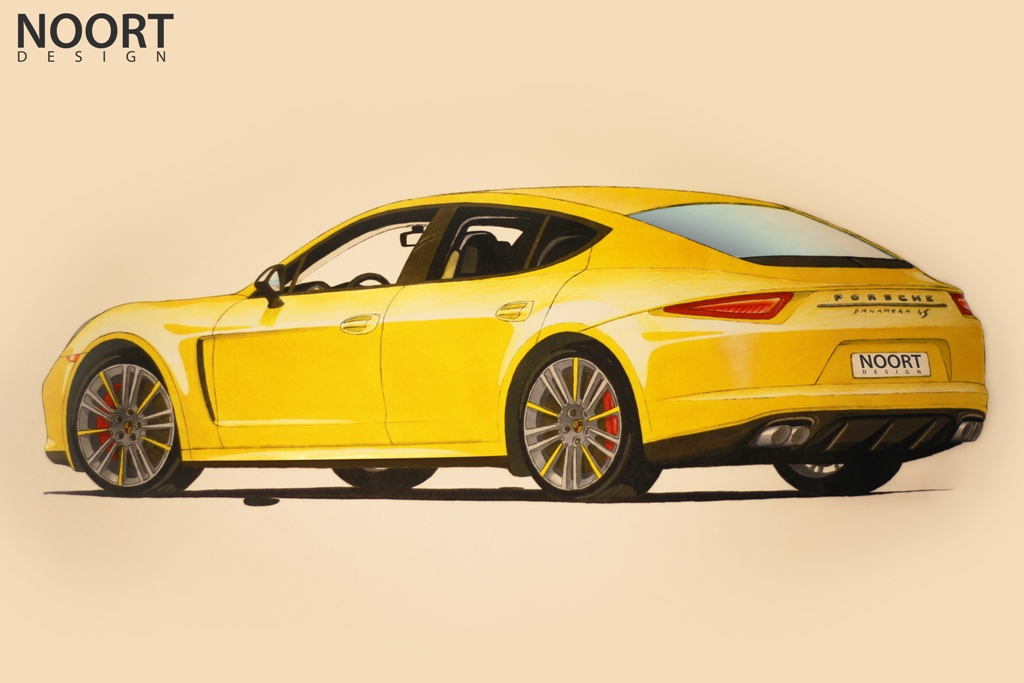 Matthijs Noorts Vision On The 2014 Porsche Panamera