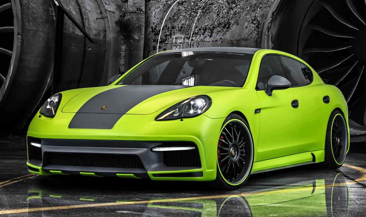 'Yes he can': Porsche Panamera door Regula Exclusive