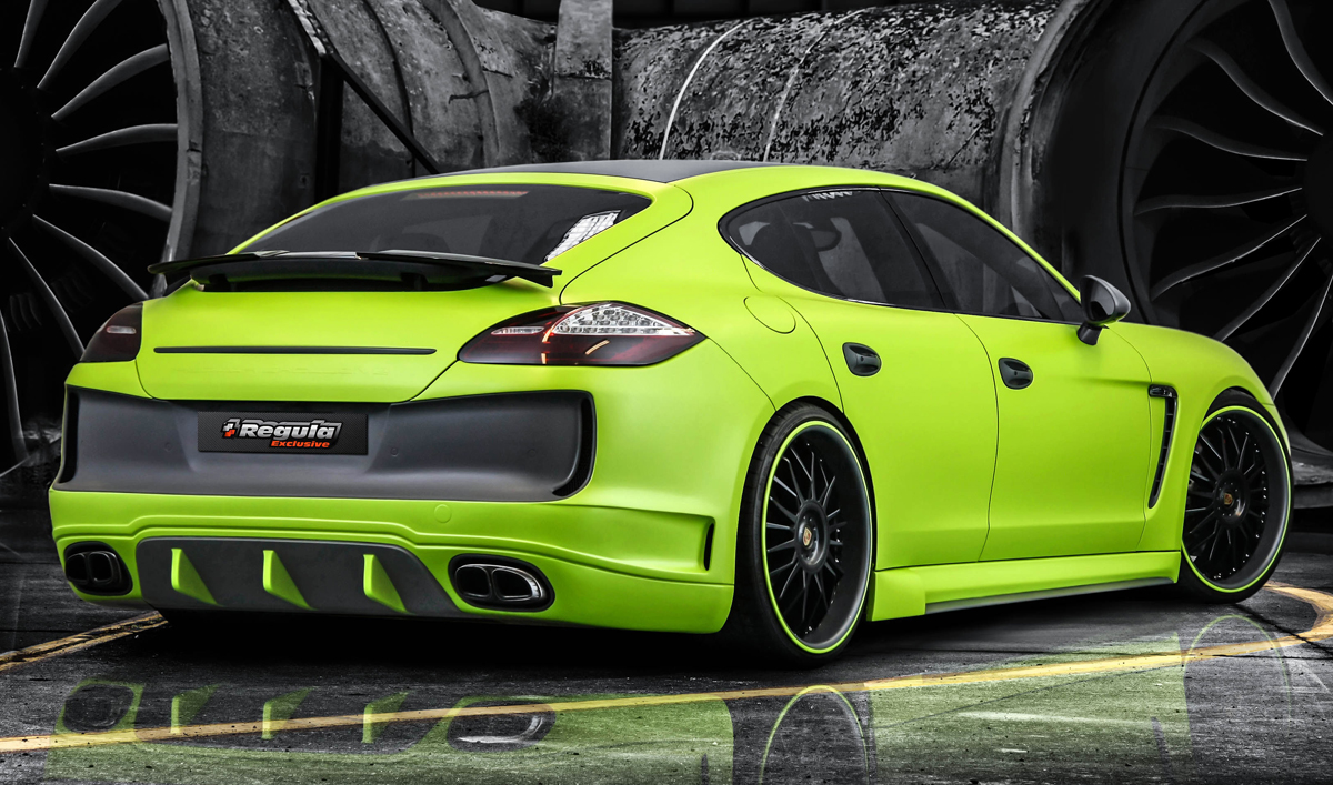 39 Yes He Can 39 Porsche Panamera By Regula Exclusive