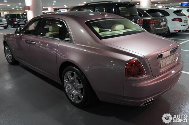 Rolls Royce Ghost Rose Quartz A Beautiful Bespoke Model