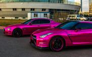 Hromirana roze folija na Nissanu i Maseratiju