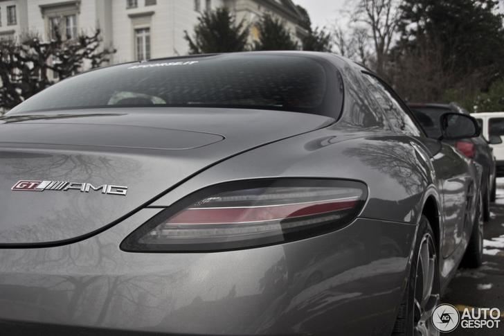 De eerst gespotte Mercedes-Benz SLS AMG GT is een feit