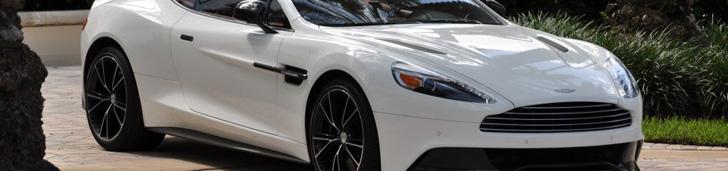 Aston Martin Vanquish divno izgleda u Stratus beloj boji!