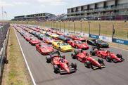 140 Ferraris versammeln sich für einen neuen Neuseeland-Rekord