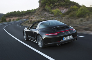 Porsche 911 Targa nu in vol ornaat!