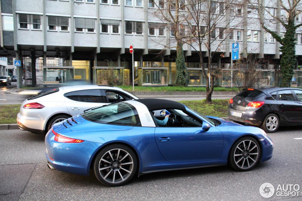 Porsche 991 Targa is already spotted!