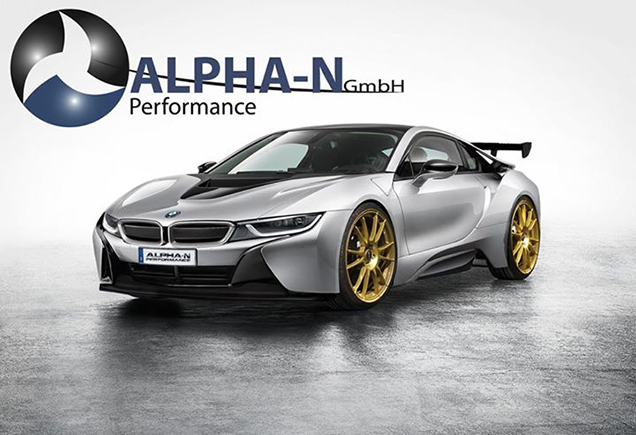 Bmw I8 Pink >> BMW i8 gets some extra spoilers by ALPHA-N Performance