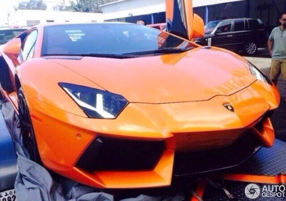 First Lamborghini Aventador Lp700 4 Arrived On Puerto Rico