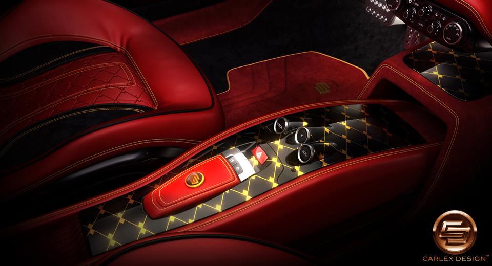 458 italia red interior. binnenzijde ferrari 458 italia volgens carlex design red interior 2