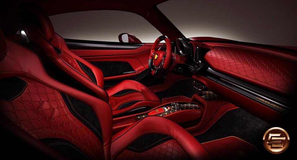 Ferrari 458 Italia S Interior By Carlex Design