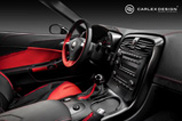 Carlex Design équipe la Corvette C6 d'un nouveau cuire et d'alcantara!