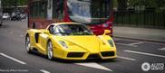 Una Ferrari Enzo gialla avvistata finalmente a casa!