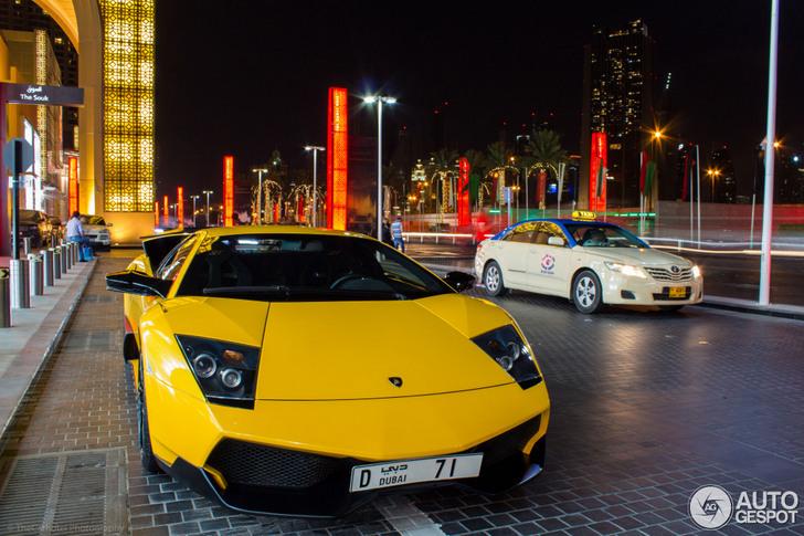 Yellow Lamborghini Murcielago Lp670 4 Sv Looks Amazing