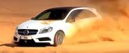 Vídeo: Mercedes-Benz A45 AMG nas dunas do deserto do Sahara!