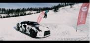 Video: Una Nissan GT-R sulle piste da sci!