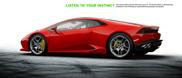 Já há configurador do Lamborghini Huracán LP610-4!