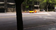 Lamborghini Huracán fimado em drift para gravações publicitárias!