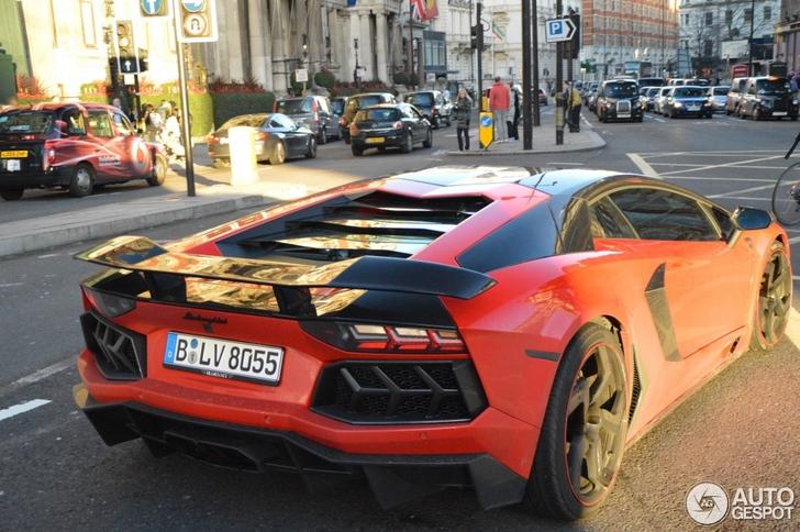 Erster Mansory Lamborghini Aventador Lp700 4 In Europa