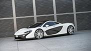 McLaren P1 con cerchi realizzati da Wheelsandmore