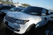 Range Rover with Bullet Holes For Sale