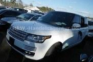 Range Rover baleado para venda
