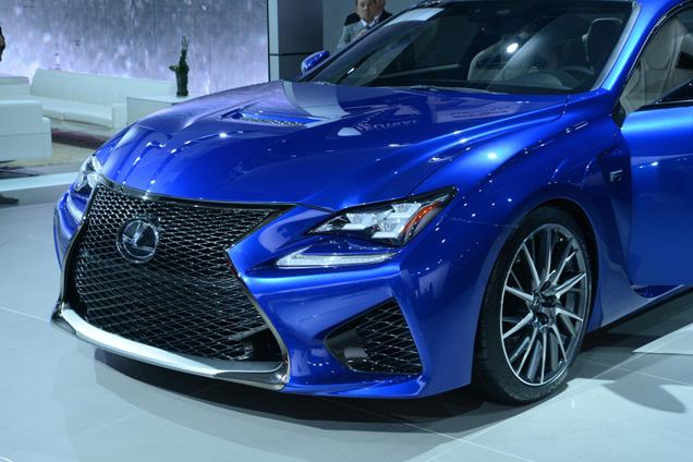 Lexus RC F is ook in het echt mooi!